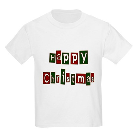 Happy Christmas Kids Light T-Shirt
