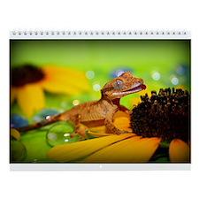Unique Lizards Wall Calendar
