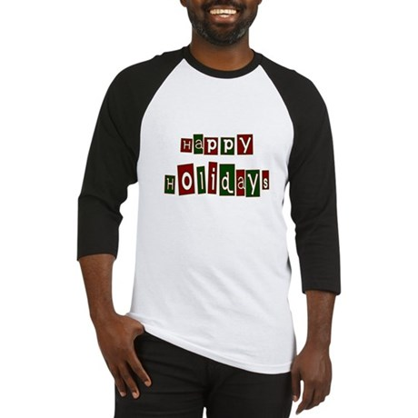 Happy Holidays Baseball Jersey