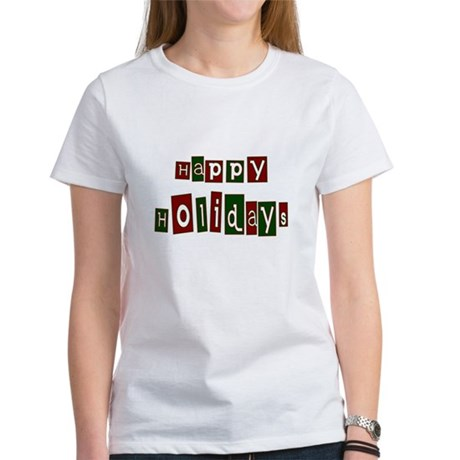 Happy Holidays Women's T-Shirt