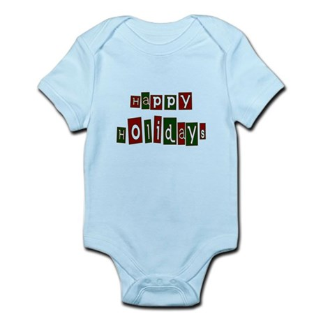 Happy Holidays Infant Bodysuit