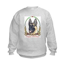 German Shepherd Holiday Sweatshirt