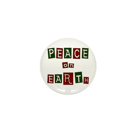 Peace on Earth Mini Button (10 pack)