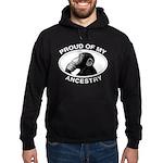 Proud of my Ancestry Chimp Hoodie (dark)
