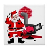 Santa Claus Tile Coaster