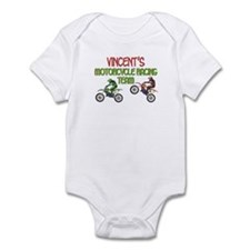 Vincent's Motorcycle Racing Infant Bodysuit