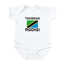Tanzania Rocks! Infant Bodysuit