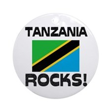 Tanzania Rocks! Ornament (Round)