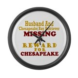 Husband & Chesapeake Bay Retriever Missing Large W