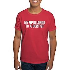 My Heart Belongs to a Dentist T-Shirt