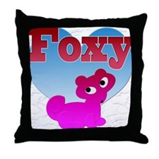 NOW ON SALE, Foxy Throw Pillow