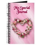 Floral Heart Journal
