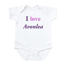 I love Avonlea Infant Bodysuit