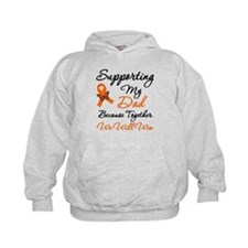 Orange Ribbon Butterfly Hoodie