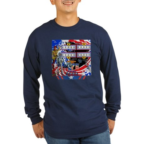 Gottlieb&reg; &quot;Spirit of 76&quot; Long Sleeve Dark T-Sh