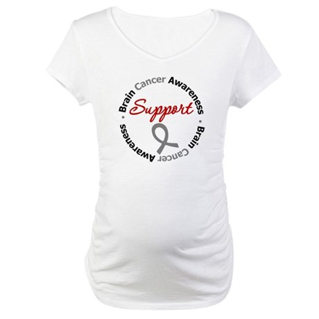 BrainCancerSupport Maternity T-Shirt