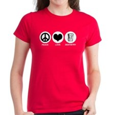 Peace Love Dentistry Tee