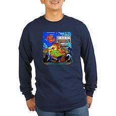 "Gottlieb® ""Sure Shot"" Long Sleeve Dark T-Shirt"