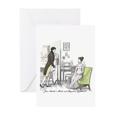 Pride & Prejudice Ch 34 Greeting Card