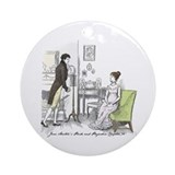 Pride &amp; Prejudice Ch 34 Ornament (Round)