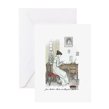 Pride & Prejudice Ch 34a Greeting Card