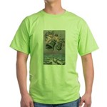 Christmas Cherubs Green T-Shirt