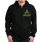 Irish Trinity Zip Hoodie (dark)