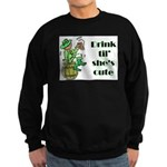 ST PATRICK'S DAY-IRISH DRINK Sweatshirt (dark)