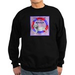 Agility Clumber Spaniel Sweatshirt (dark)