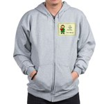 Irish Girl Blessing Zip Hoodie