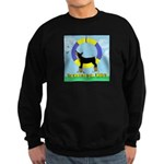 Agility Doberman Pinscher Sweatshirt (dark)