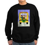 School Bus Christmas Sweatshirt (dark)