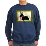 Scottie Dog Christmas Jumper Sweater