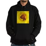Beautiful Bloodhound Head stu Hoodie (dark)