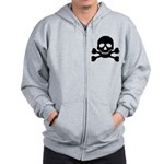Pirate Guy Zip Hoodie