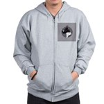 Classic Mantel Great Dane Zip Hoodie