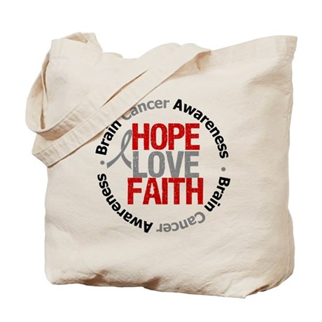 BrainCancerHope Tote Bag
