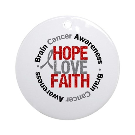 BrainCancerHope Ornament (Round)