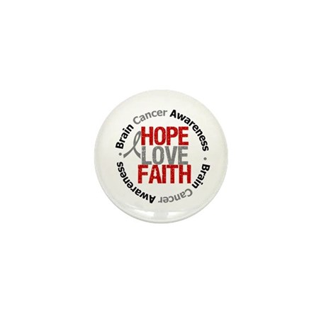 BrainCancerHope Mini Button (10 pack)