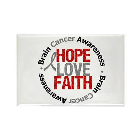 BrainCancerHope Rectangle Magnet