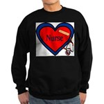 Nurse Heart Sweatshirt (dark)