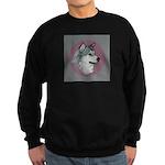 Gray Alaskan Malamute Sweatshirt (dark)
