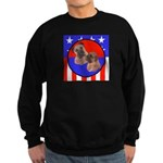 Bull Mastiff Mom & Puppy Sweatshirt (dark)