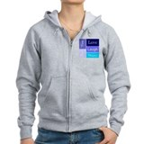 LOVE,LAUGH,DREAM,LIVE,CARE Zip Hoody