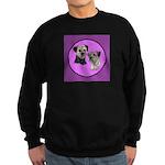 Border Terriers Sweatshirt (dark)
