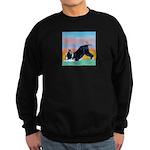 Boston Bull Terrier Sweatshirt (dark)