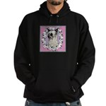 Powder Puff Chinese Crested Hoodie (dark)