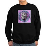 Gray Poodle Sweatshirt (dark)