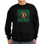 Brindle English Bulldog Sweatshirt (dark)