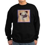 Typical Chinese Pug Sweatshirt (dark)